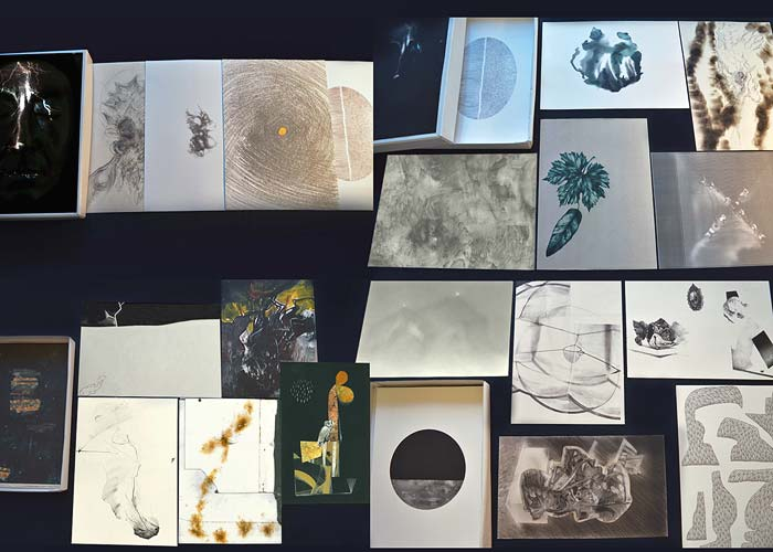 "Image of artists book ""Drawings from Lightning"""